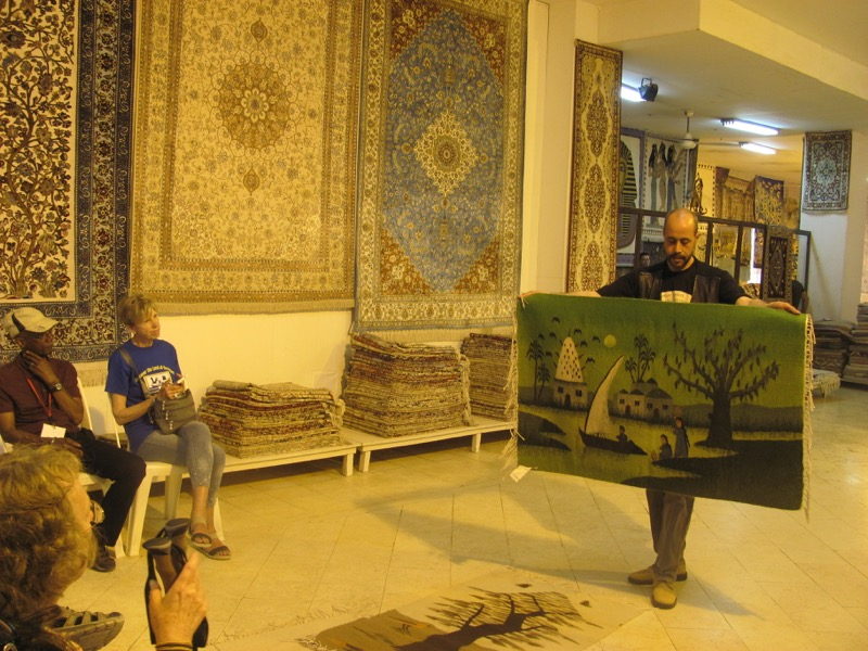 rug factory sakkara egypt