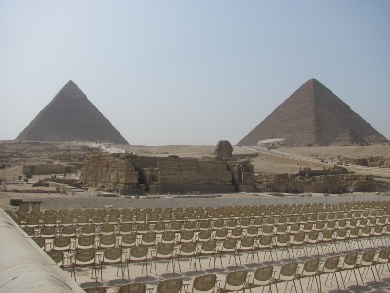 giza pyramid sphinx Cairo egypt