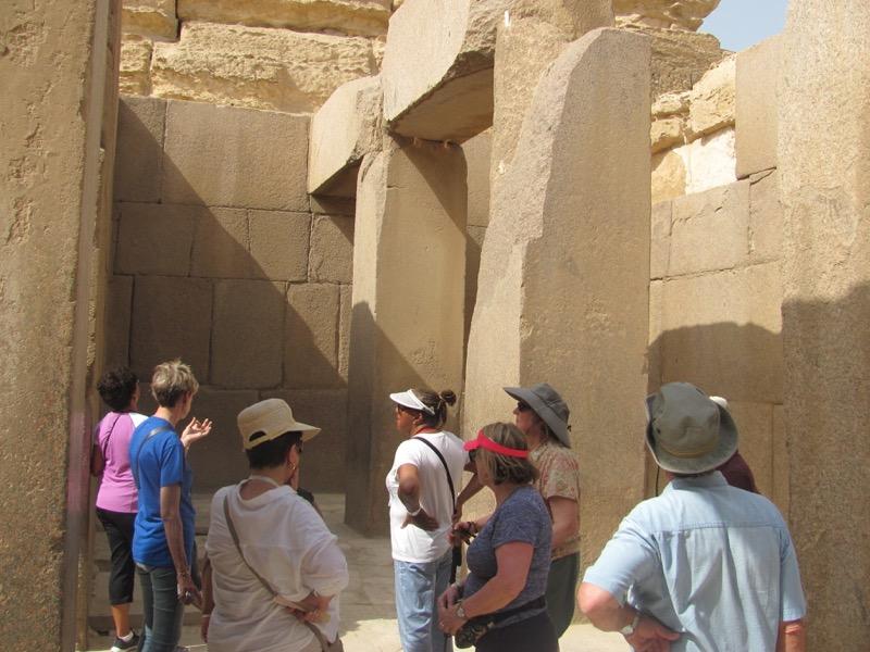 giza pyramid temple Cairo egypt