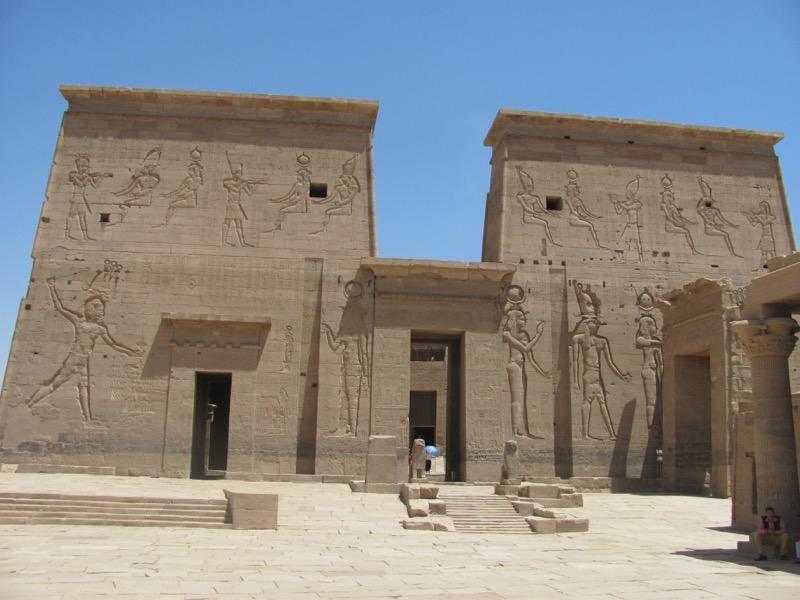 ancient temple egypt nile cruise