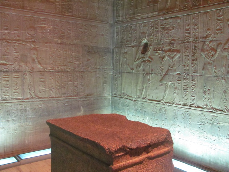 ancient temple egypt nile cruise holy of holies