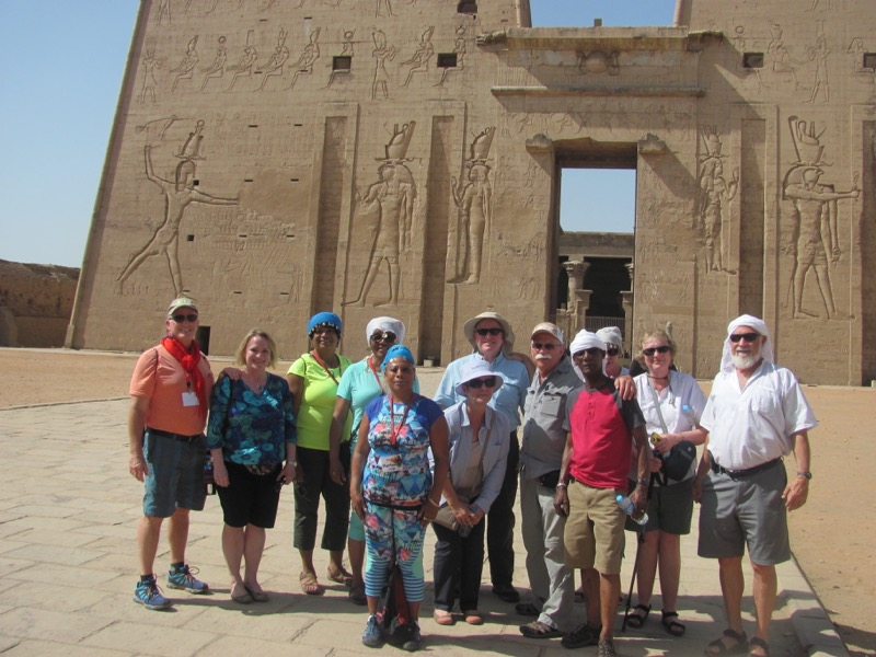 ancient temple egypt nile cruise