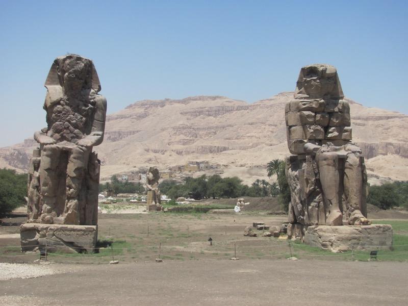 colossal luxor egypt