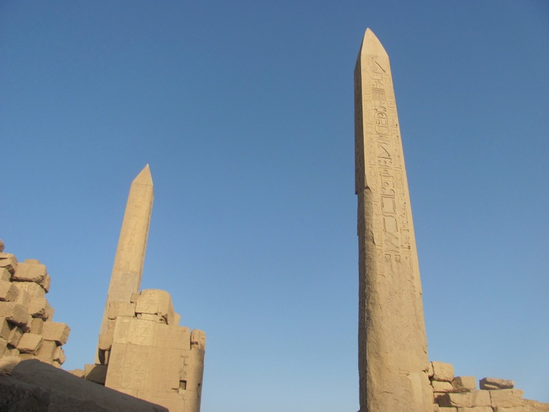 obelisk temple of thebes