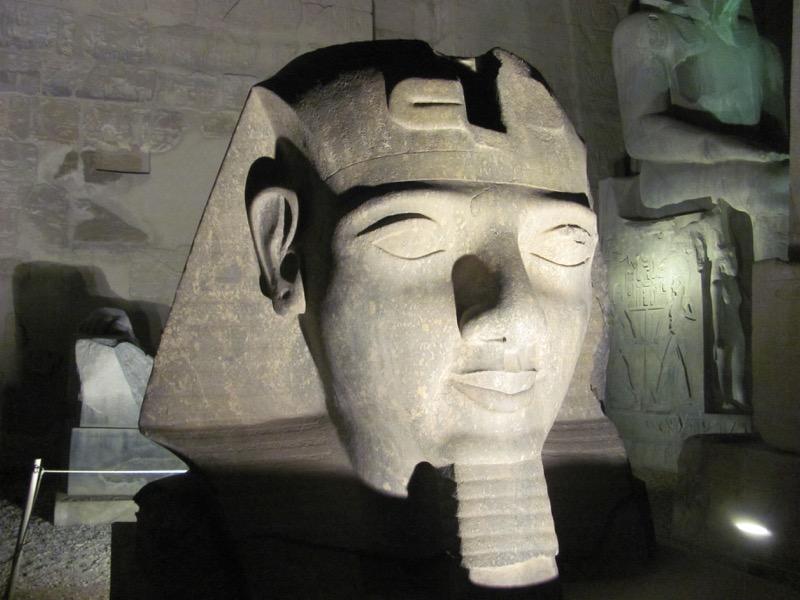 ramses II luxor egypt