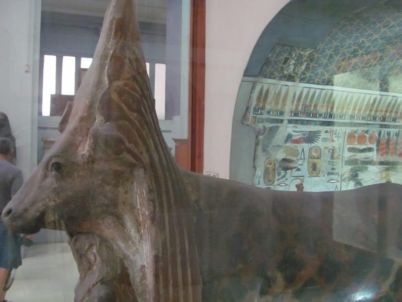 egyptian museum cairo golden calf