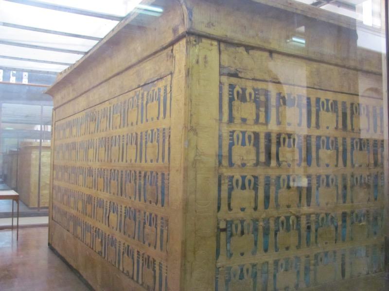 egyptian museum cairo Egypt pharaoh Tut chamber
