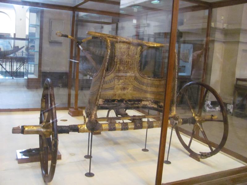 egyptian museum cairo king tut chariot