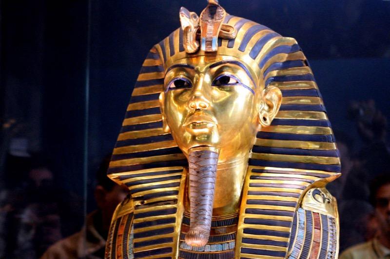 Golden mask of King Tut