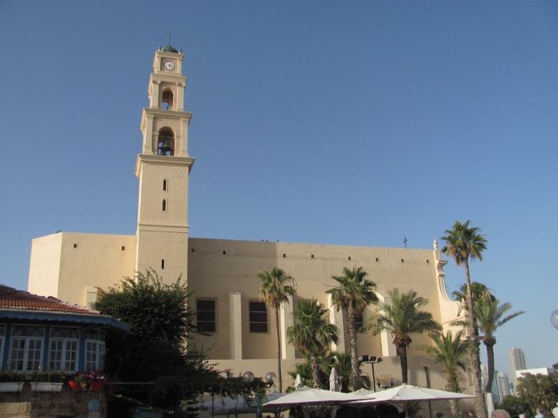 st peters church jaffa israel