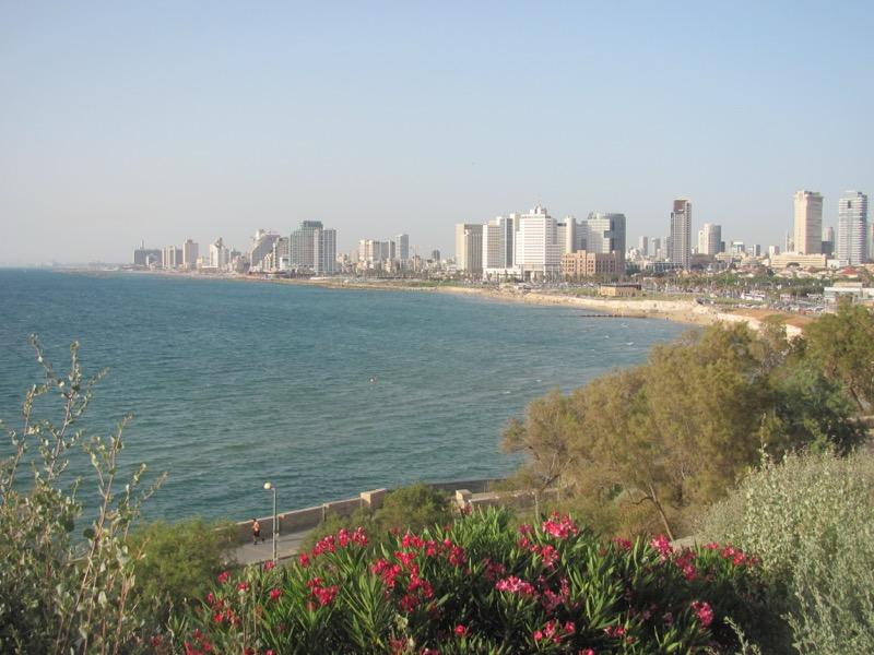 tel aviv coastline israel