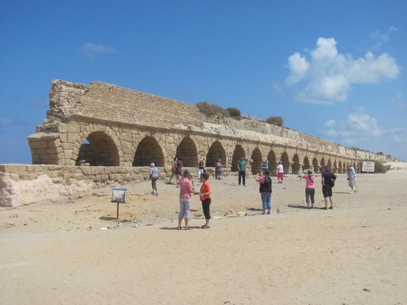 aquaduct caesarea israel