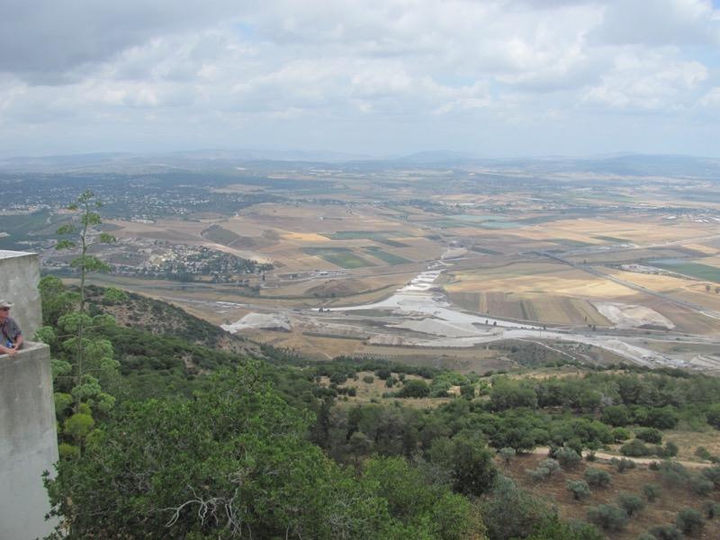 jezreel valley from carmel