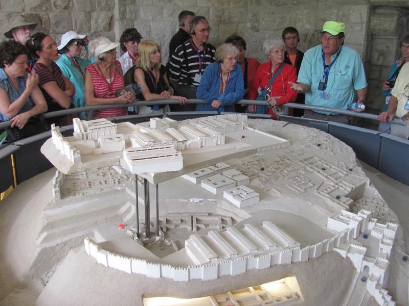 tel megiddo model israel