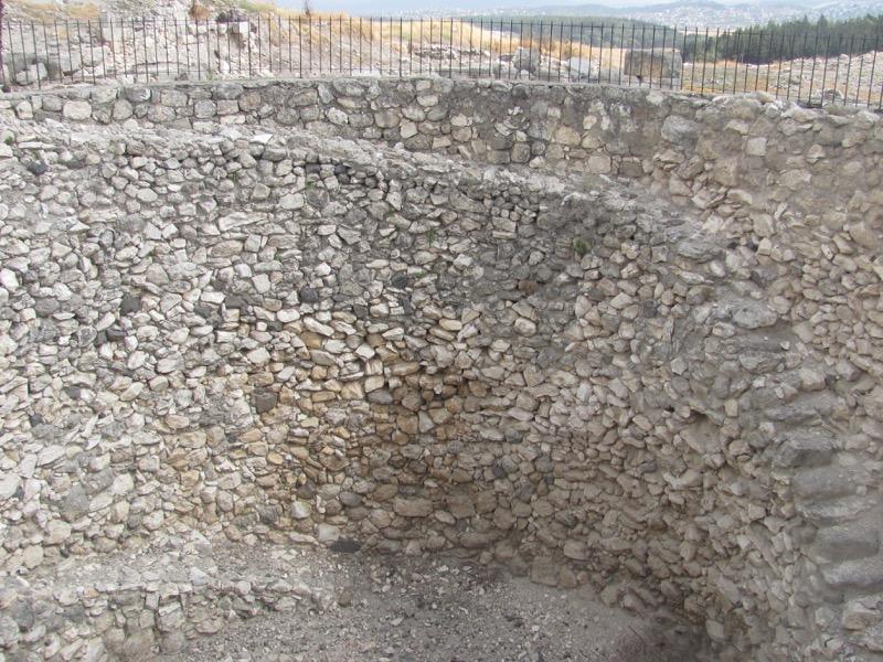 grain bin megiddo israel