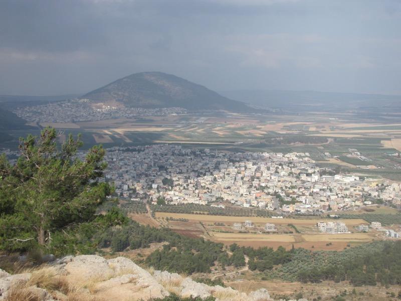 mt tabor jezreel valley israel