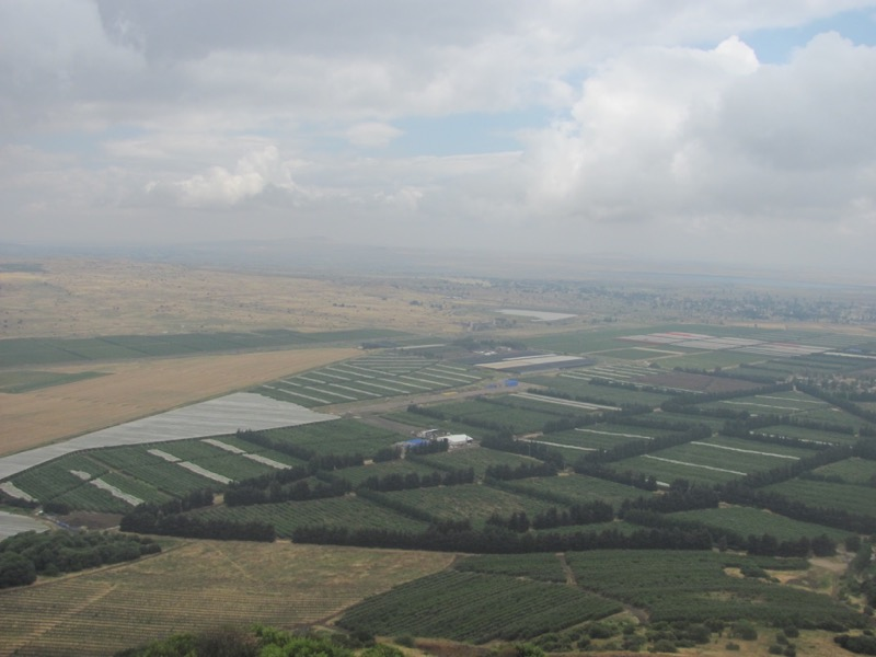 Syria border from ben tal