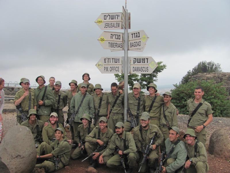 IDF soliders bental