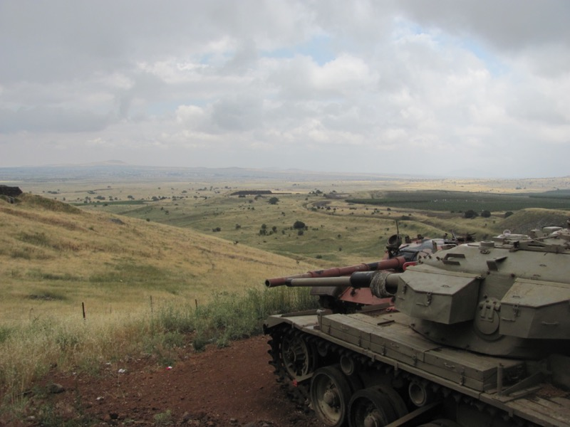 valley of tears tanks syrian border
