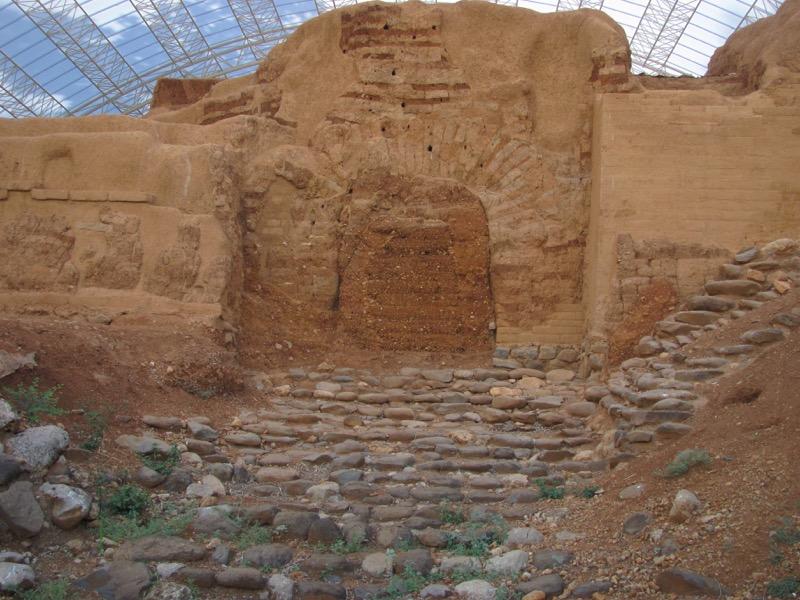 canaanite gate tel dan middle bronze