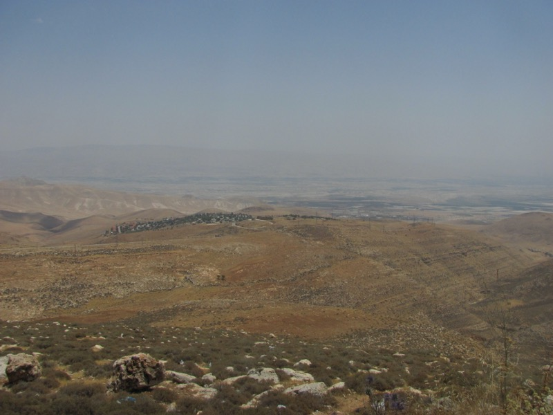 view from beth shean