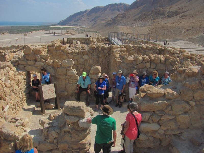 qumran ruins israel