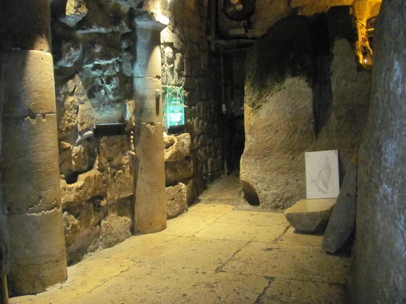 roman pavement western wall tunnel jerusalem