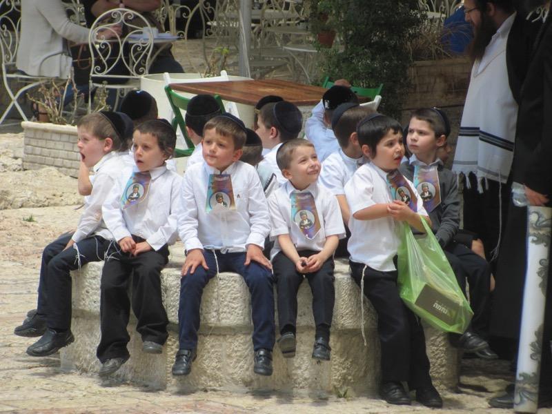 orthodox boys jewish quarter