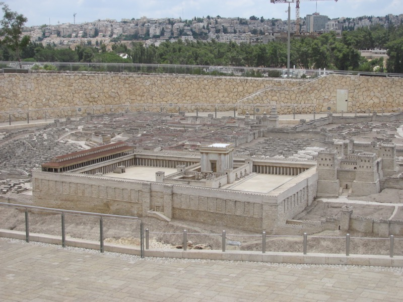 israel museum temple model of jerusalem