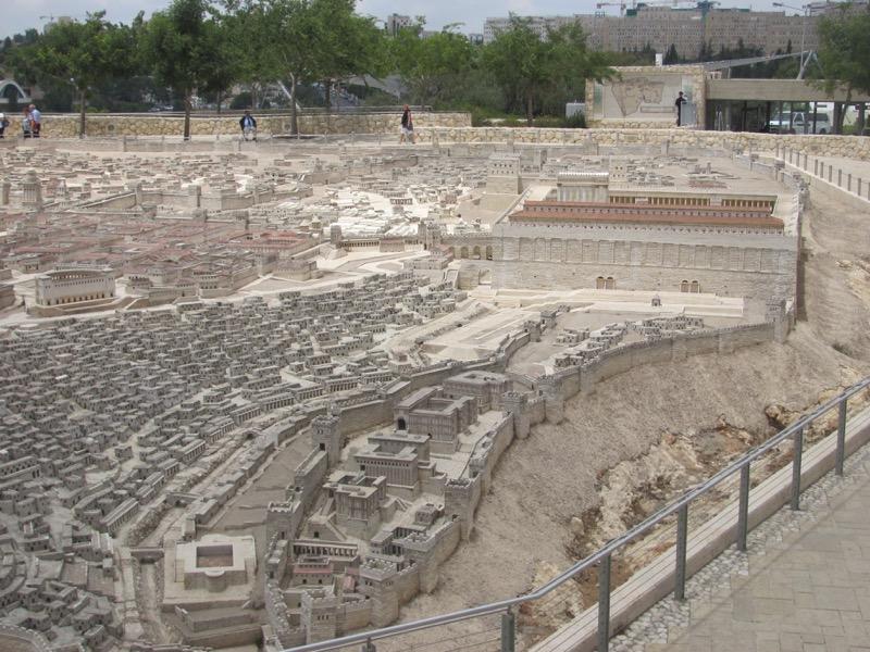 israel museum model of jerusalem