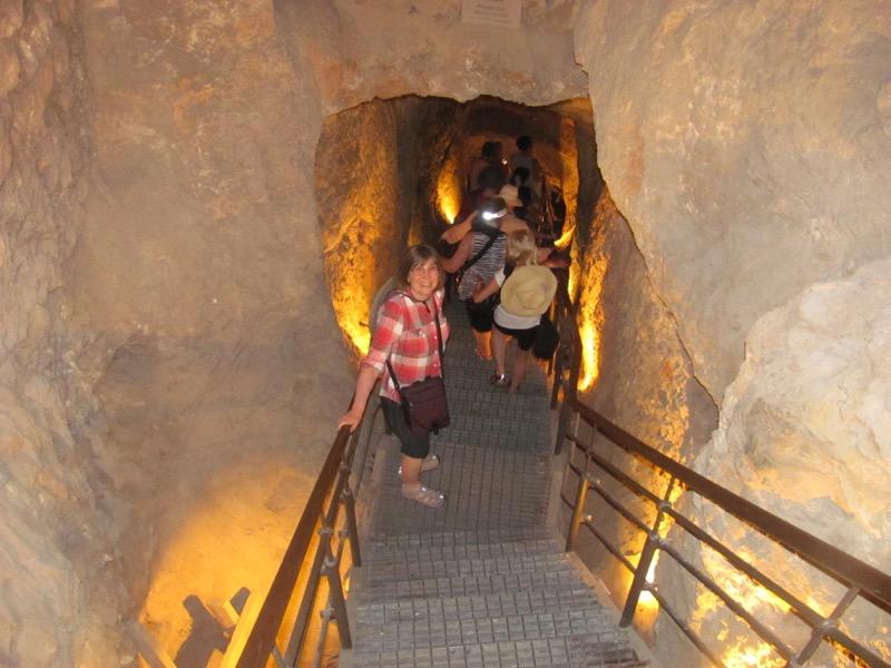 walking down warren's shaft city of david