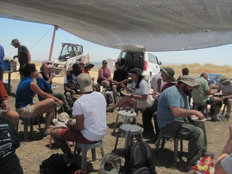 archaeological excavation tel gezer june 2016