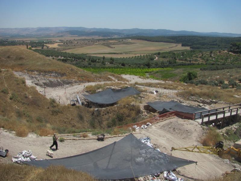 Tel Gezer Dig, Day 1