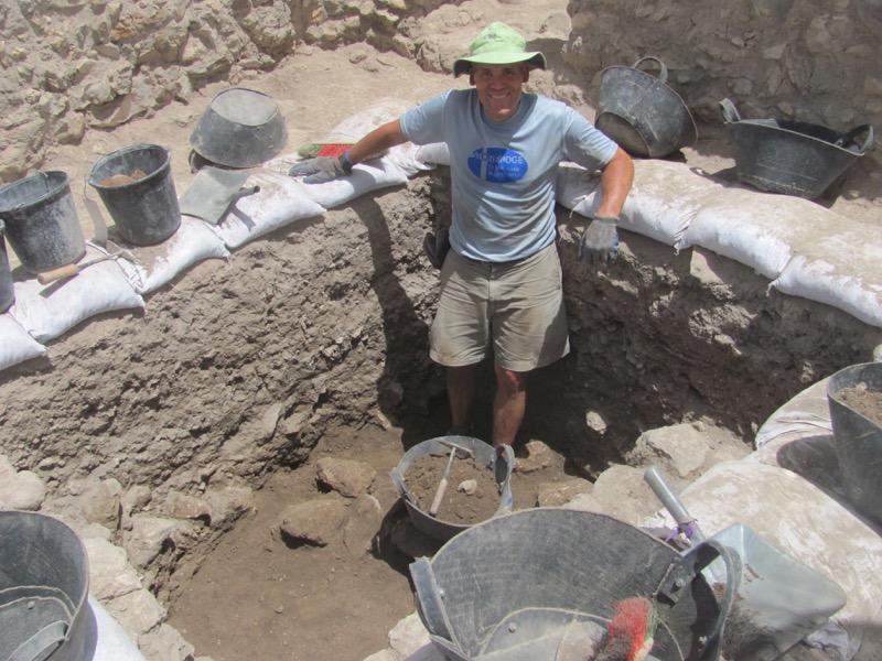 Tel Gezer Dig, Day 6