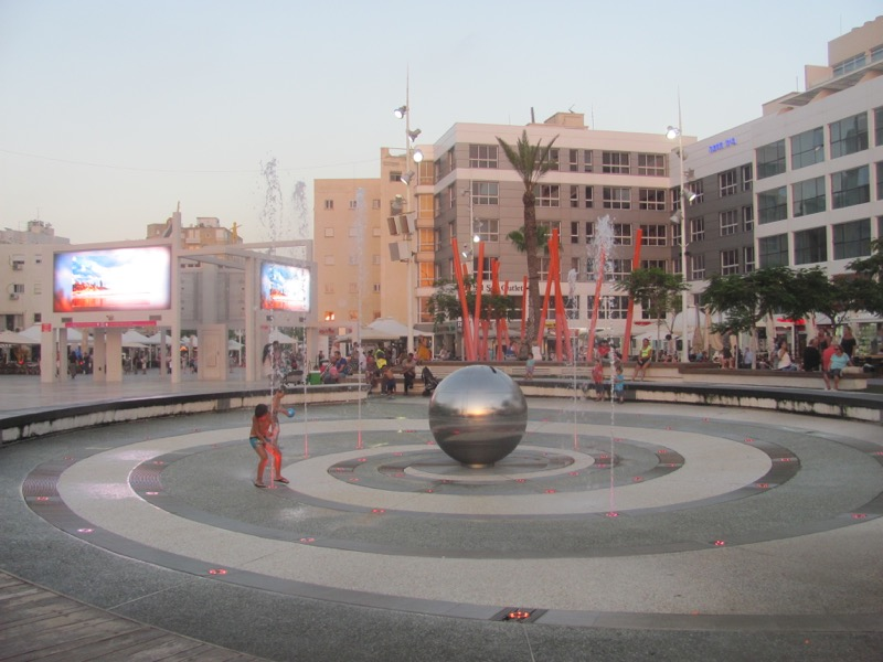 Netanya town center