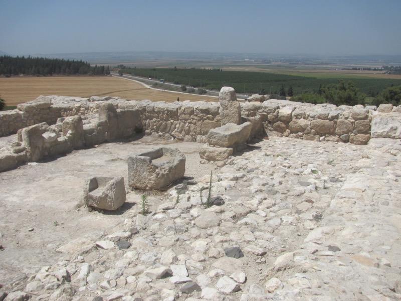 megiddo ruins stables