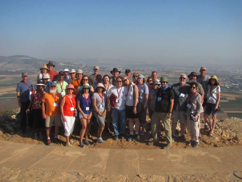 Standing on the precipice of Nazareth overlooking the Jezreel Valley