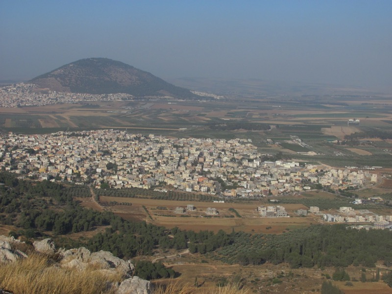 mt tabor and jezreel valley