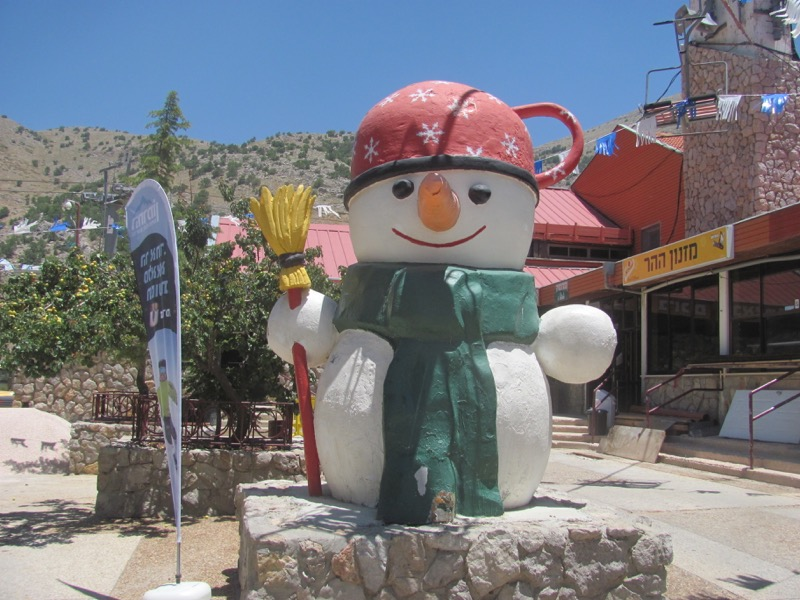 mt hermon ski resort israel