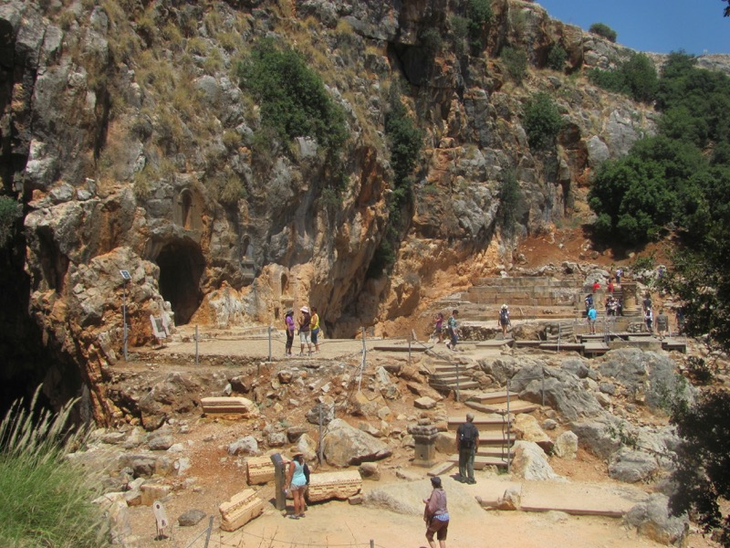 caesarea philippi ruins grotto