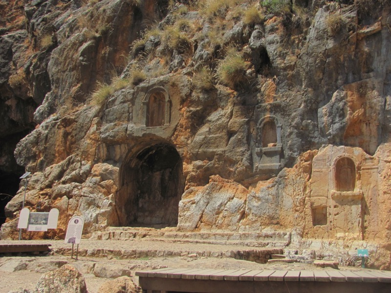 grotto at caesarea philippi