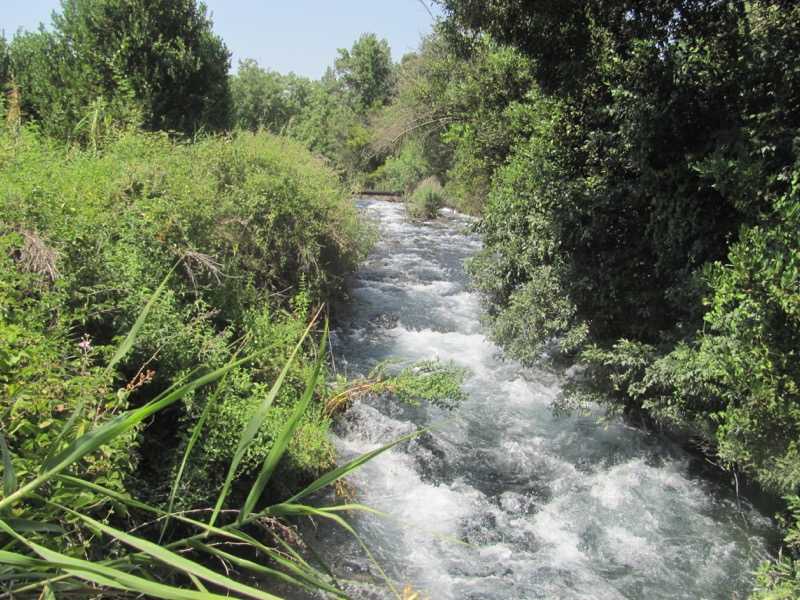 jordan river at dan