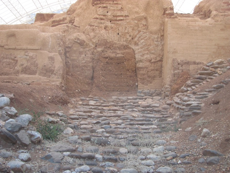 canaanite gate at tel dan