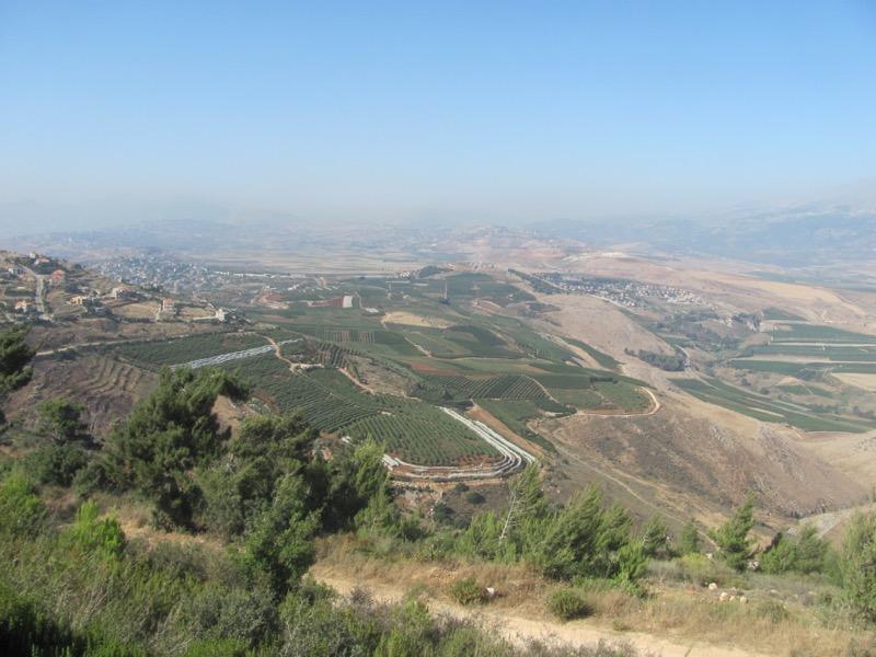 huleh valley israel