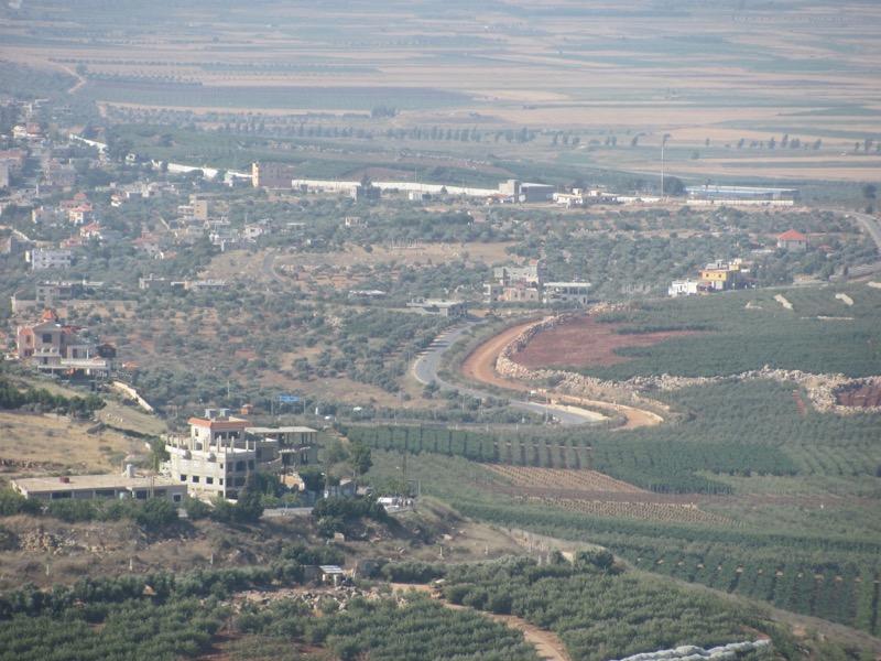 israel-lebanon border metulla