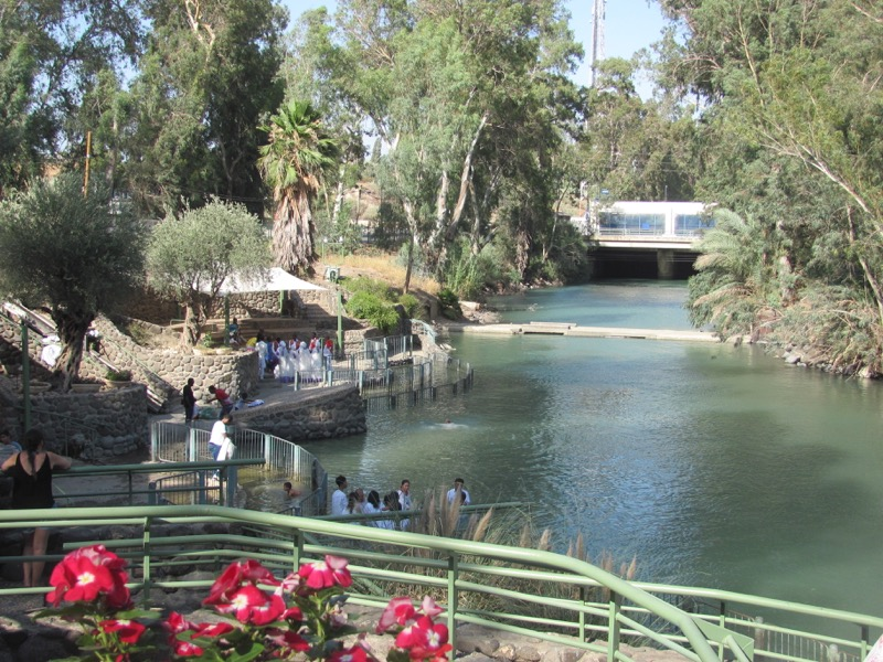 yardenit baptism in jordan river