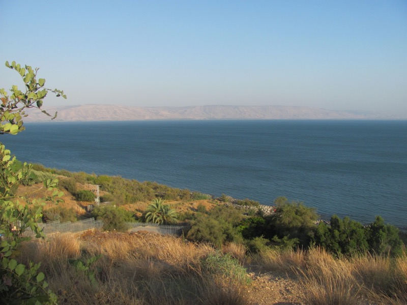sea of galilee kinneret