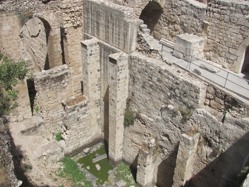 pool of bethesda jerusalem