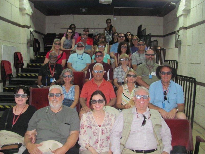 city of david watching 3-d movie