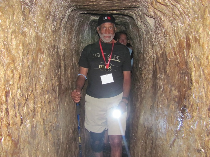 Hezekiah's tunnel-jerusalem-city of david